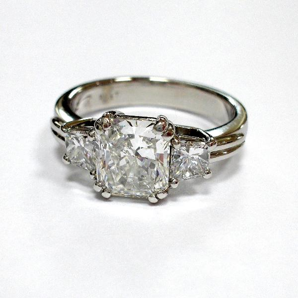 Handmade Engagement Ring R. Hollander Collection #10