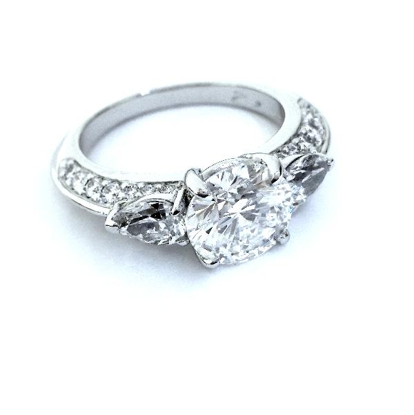 Handmade Engagement Ring R. Hollander Collection #12