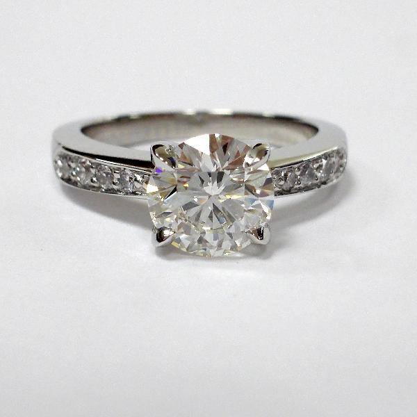 Handmade Engagement Ring R. Hollander Collection #3